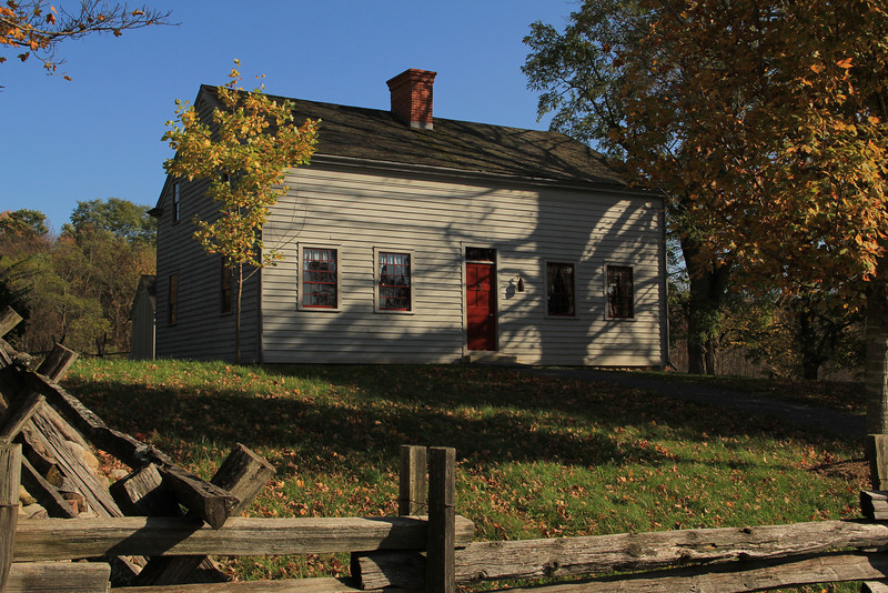 "This is one of the original Smith houses in the Joseph Smith Farm in Palmyra, New York.<br /> To learn more about Joseph Smith, visit <a href=""http://www.mormon.org"">http://www.mormon.org</a>"