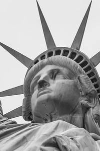 Close up of Liberty