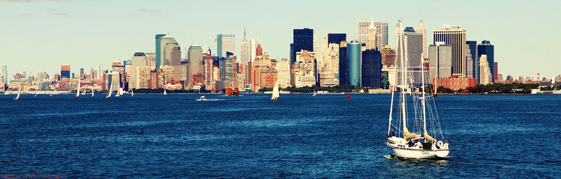 Lower Manhattan.