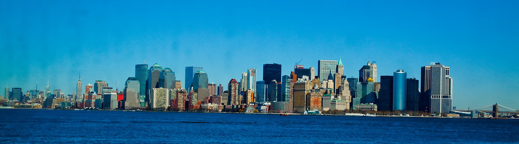 Manhatten Skyline.