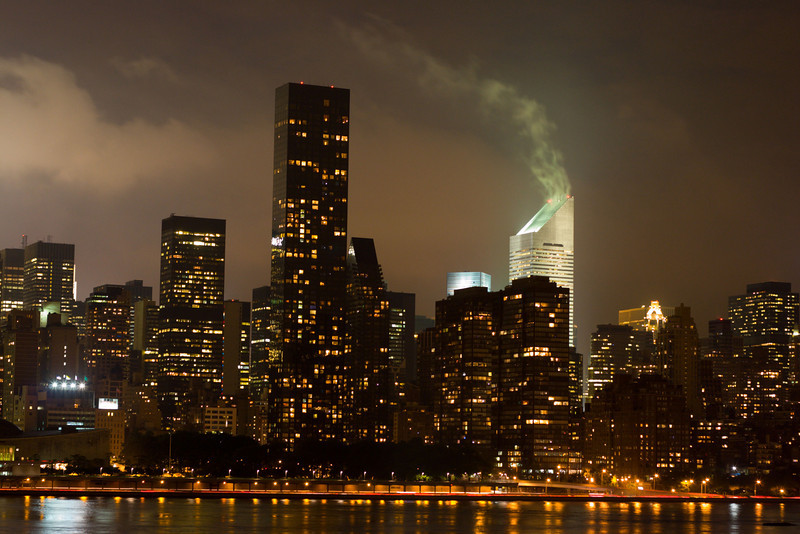 Steamy Skyline