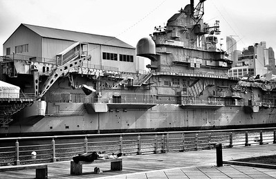 Hudson River Park & USS Intrepid