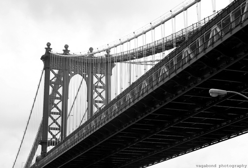 The Manhattan Bridge; a slightly different angle.