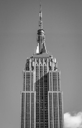 Empire State Building, detail