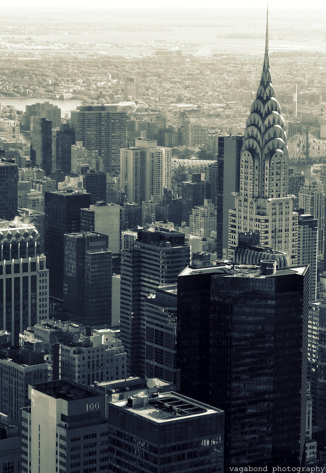 Chrysler Building skyline.