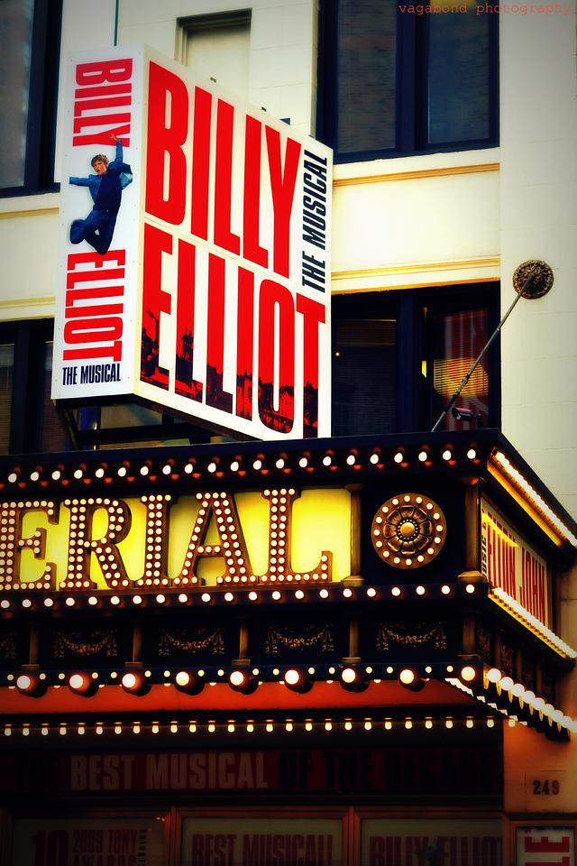 Billy Elliot - awesome! At the historic Imperial Theatre.