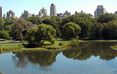 Central Park, from Belvedere Castle, looking northeast - September, 2010