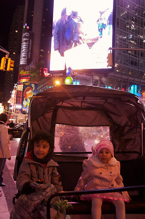 Jaden and Cyane - last stop, Times Square