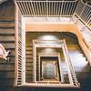 Stair at Ellis Island