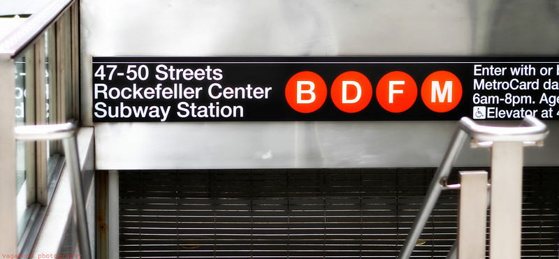 Rockefeller Subway Stop