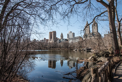 Looking west from Central Park