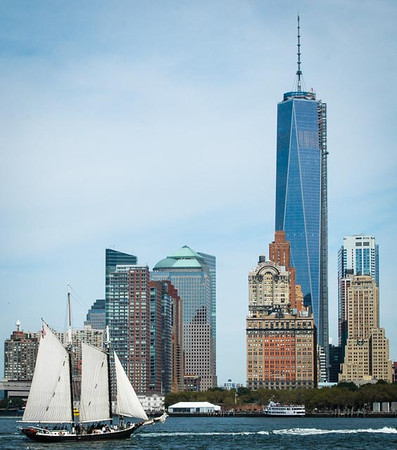 New York Harbor and Freedom Tower