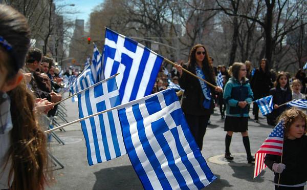 Greek Parade, April 2013