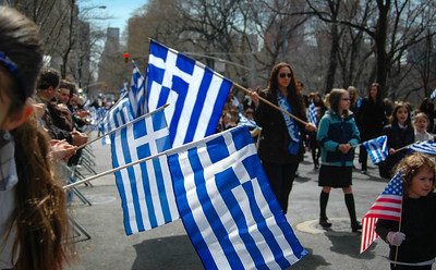 Greek Parade, April 2013