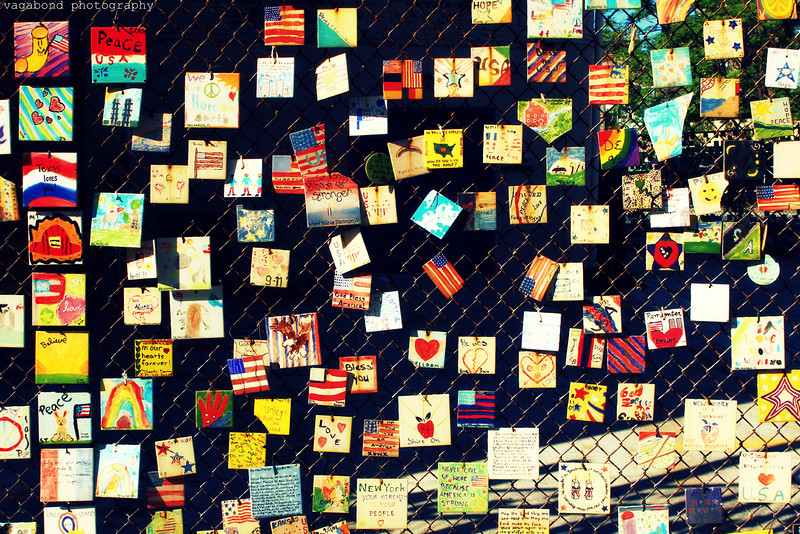Greenwich Village 9/11 memorial.