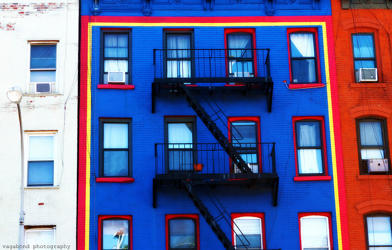 Colourful Lower East Side.