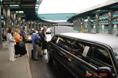 Thanks Gary, for lining up the limo!