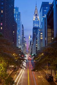 42nd street in Manhattan.
