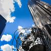 NY Globe Sculpture