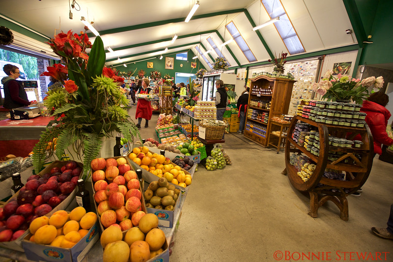 Organic Fruit Stand