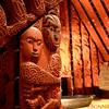 War Museum, Maori Meeting House and Carvings