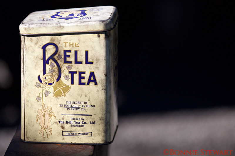 Old Tea Canister