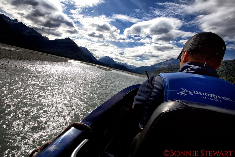 Dart River Jet Boat