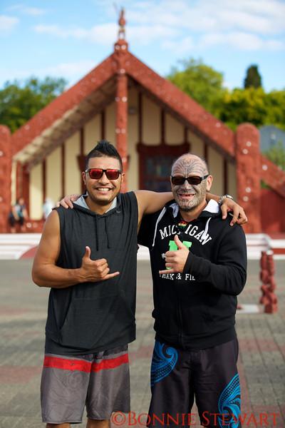 Shaloh and Ra of the Ohinemutu Maori Tribe