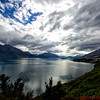 Lake Wakatipu along the road to Glenorchy