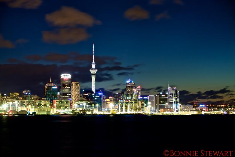Auckland, New Zealand - View from Devonton