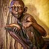 Gollum in Bronze - the Hobbit Series