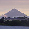 Mt. Egmont (Taranaki volcano) as seen from New Plymouth