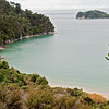 Walking in Abel Tasman National Park.