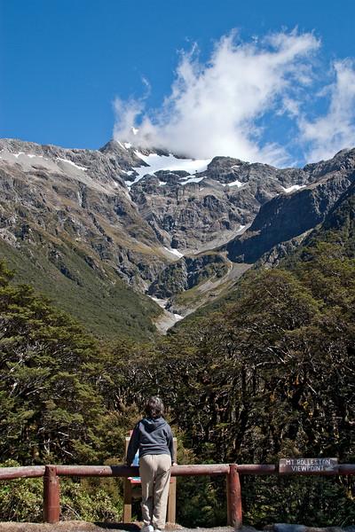 Mount Rolleston glacier, near Arthur's Pass.