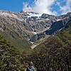 Mount Rolleston glacier, near Arthur's Pass.