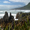 Driving south along the wild and rough west coast of the South Island.