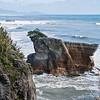 Along the west coast of the South Island, near Pancake Rocks.