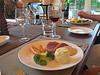 Dinner, Owen River Lodge