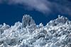 Ice formations, Franz Josef Glacier.