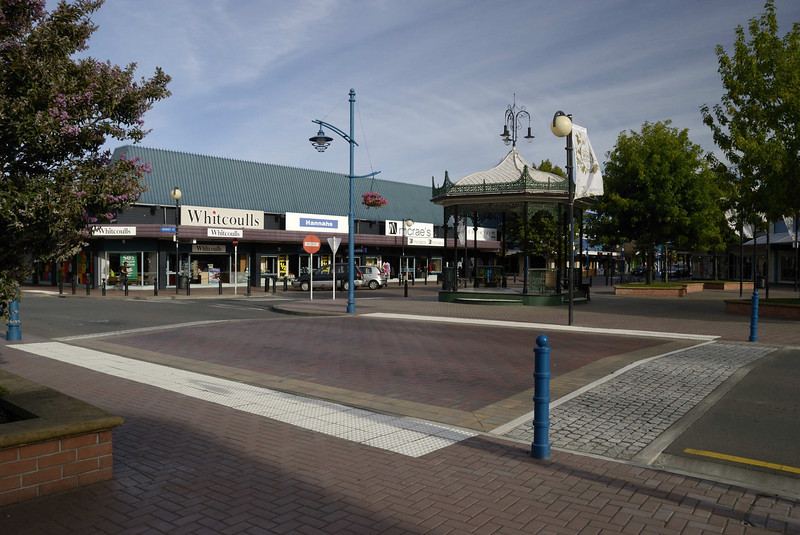 Blenheim town centre (Marlborough country).