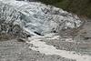 End of the Fox Glacier.