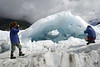 Ice formation, Frans Josef Glacier.