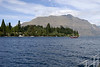 Lake Wakatipu, Queenstown, S Is, NZ. America's Cup boat.