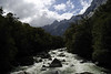 The Tutoko River, flows into Milford Sound.