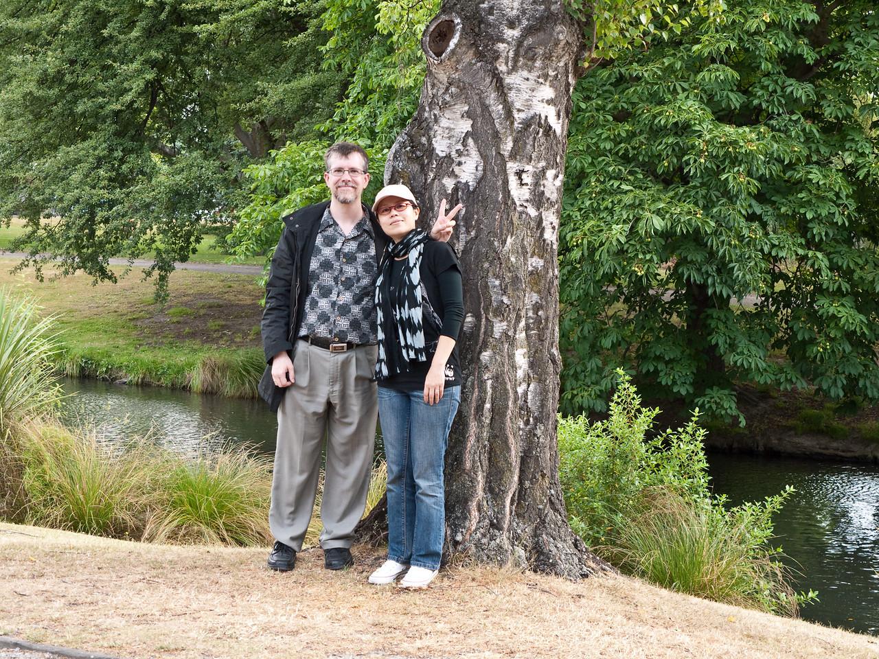 In the Botanic Gardens, Christchurch