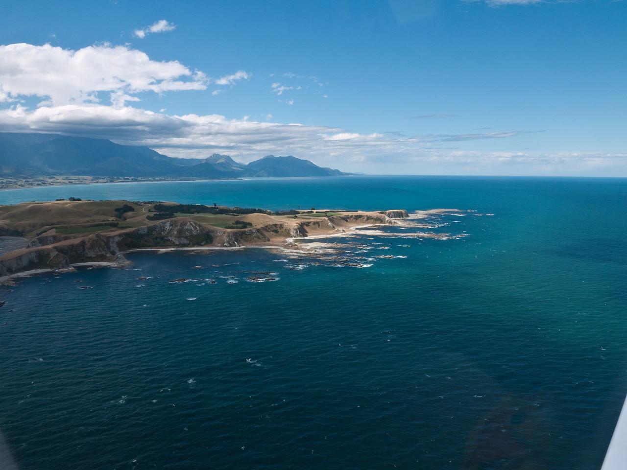 Coastline off Kaikoura