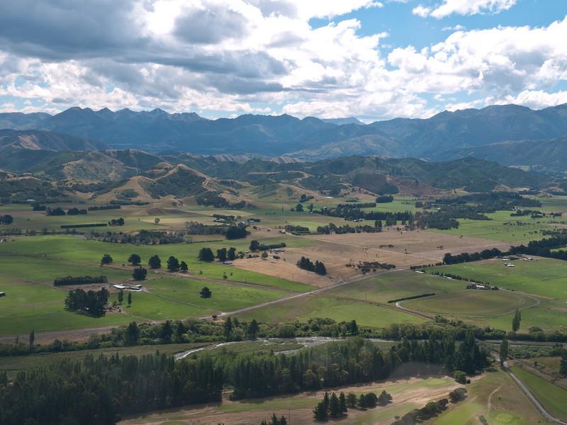 Kaikoura farmland