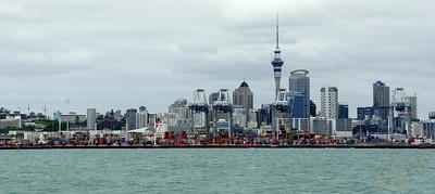 Auckland Skyline (from Waiheke Island Ferry)