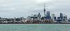 Auckland Skyline<br /> (from Waiheke Island Ferry)
