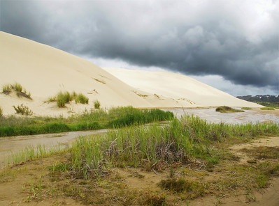 Sand Dunes & Bus Route
